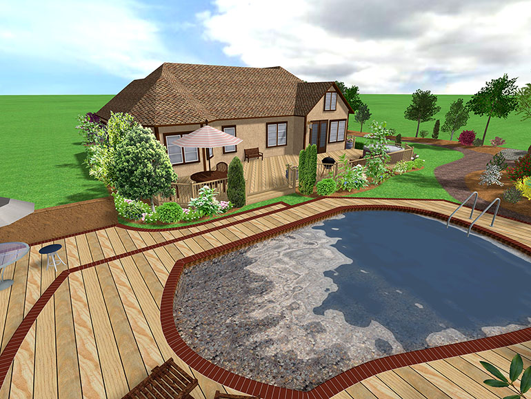 Landscape design software gallery page 3 - Swimming pool design software free ...