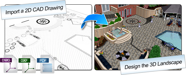Import DWG and DXF Files