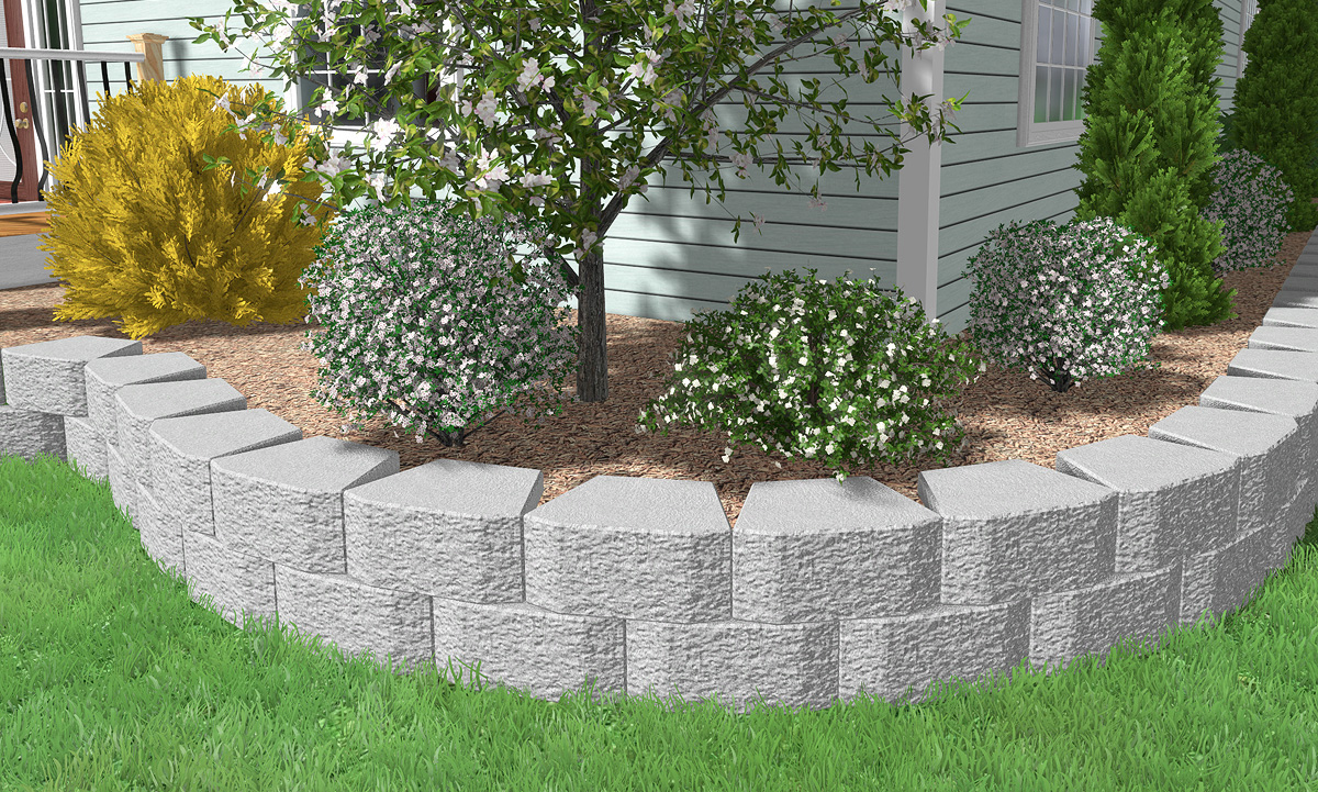 Stone Edging for Landscaping