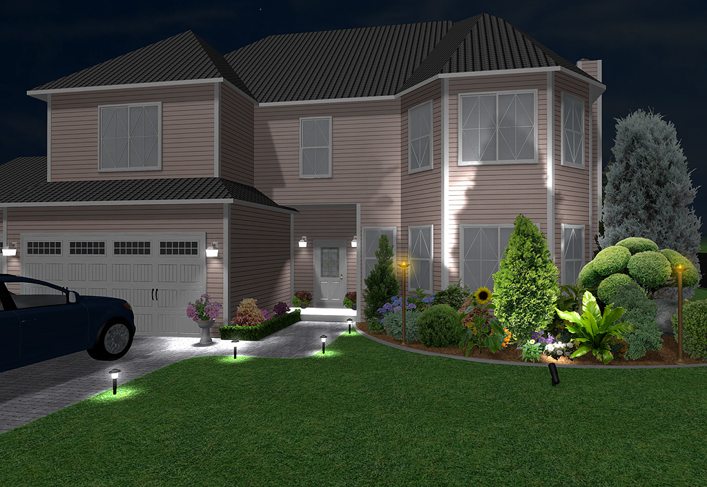 Create Impressive Landscape Lighting Designs