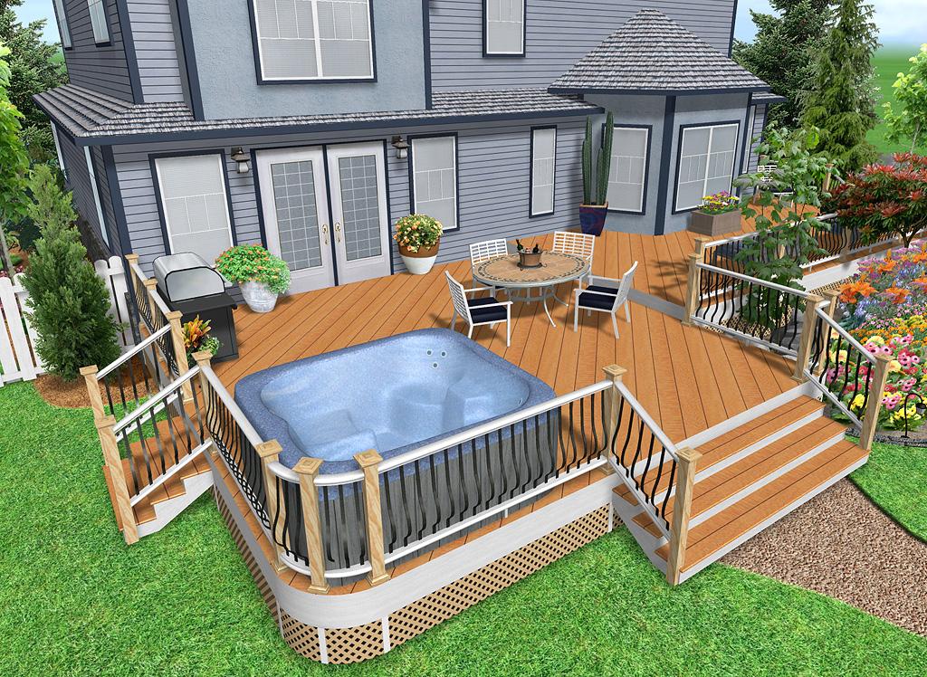 Create Realistic 3D Decks