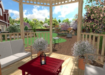 Gazebo and Outdoor Funiture