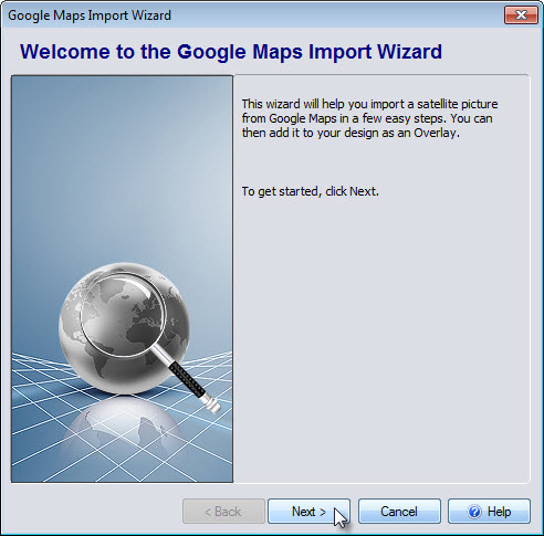 Welcome to the Google Maps Import Wizard
