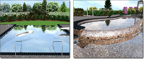 Infinity Edge Pools and Spas