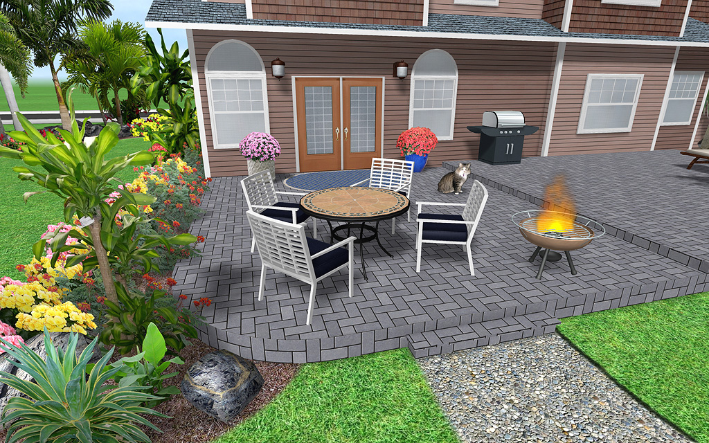 Create Groups of Landscaping Objects