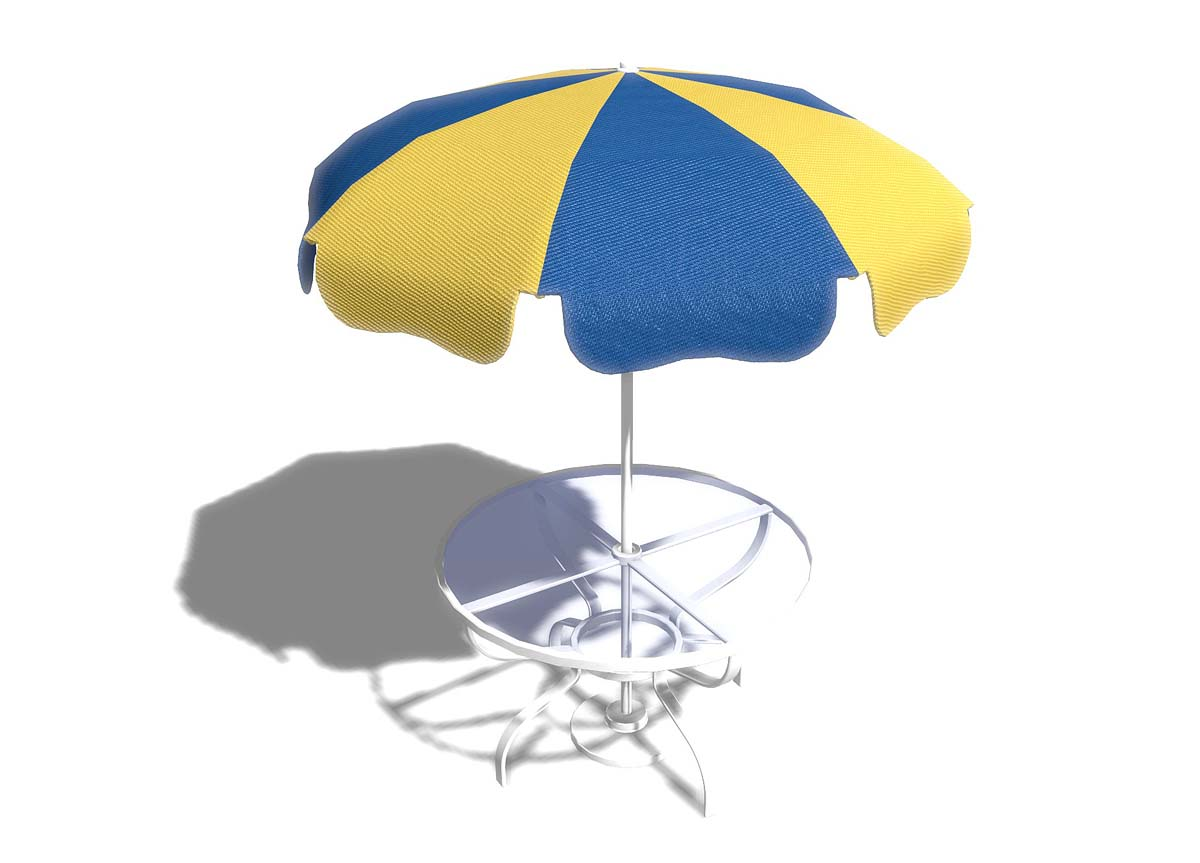 New Outdoor Tables and Umbrellas