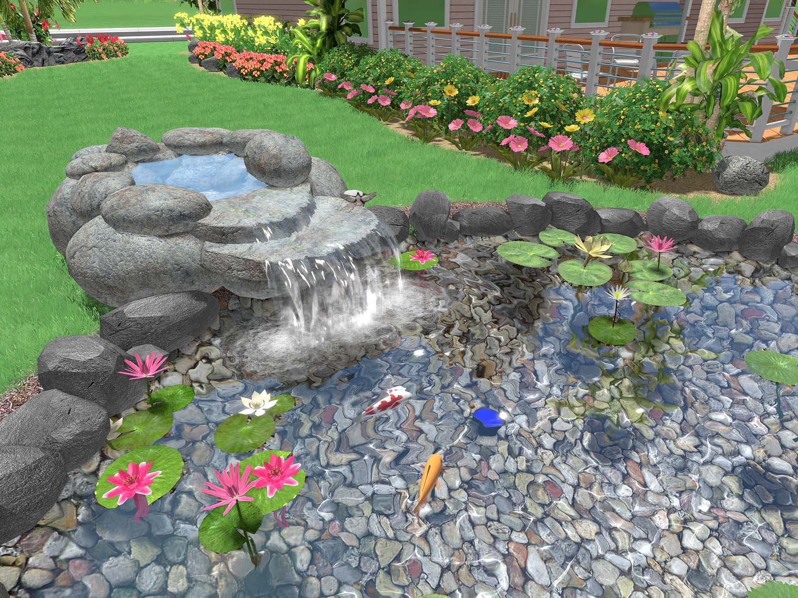 Improved Pond, Fountain, and Waterfall Water