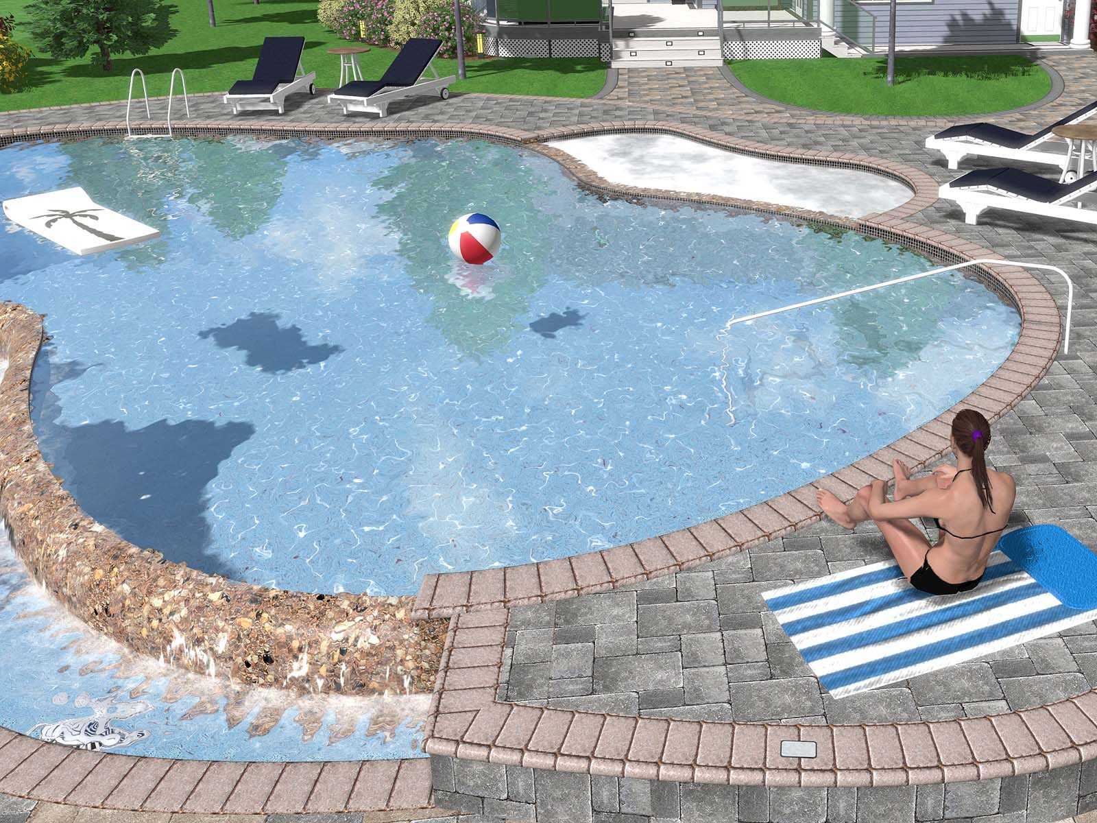 Improved Swimming Pool Water