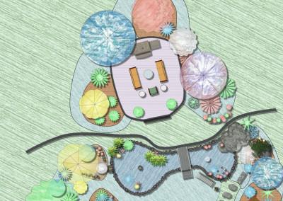Plan Design in Watercolor