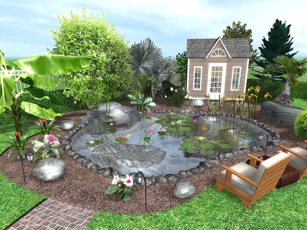 Professional Water Garden Design