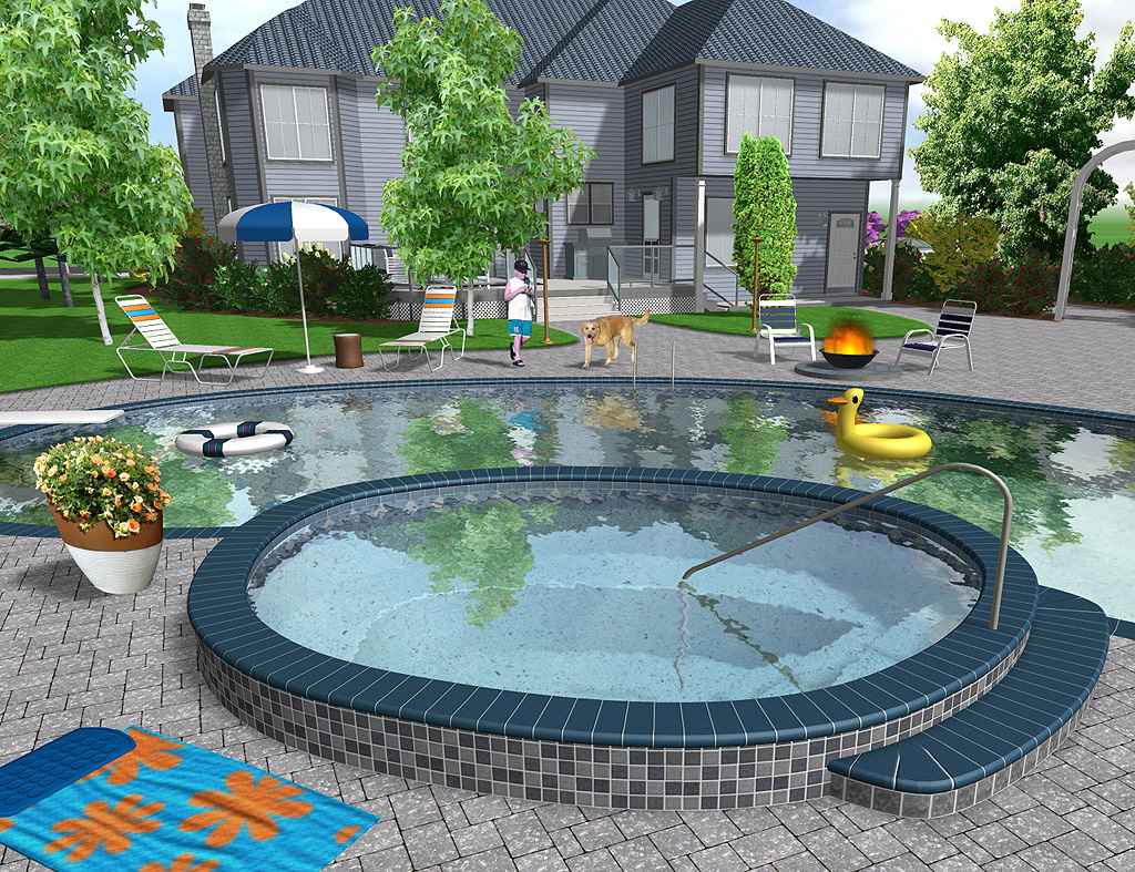 Realistic 3D Landscaping Software
