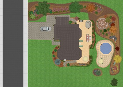 Top-Down View in Realtime Landscaping Plus