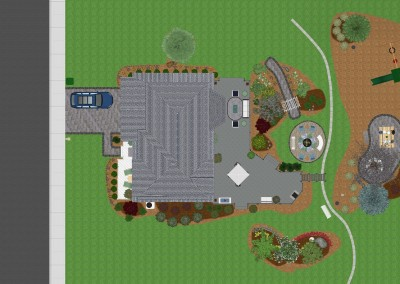 Realtime Landscaping Plus Top-Down View