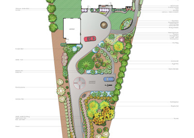 Tropical Sample Landscape Plan