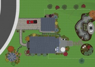 House with Swimming Pool and Fireplace