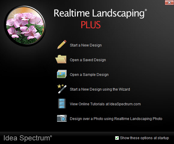 Welcome Menu of Realtime Lanscaping Plus